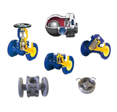 CONFLOW – valvole manuali scaricatori accessori per vapore</br></br></br>