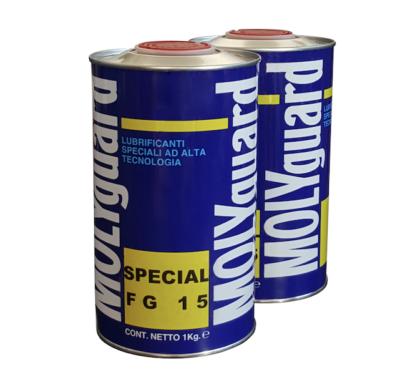 MOLYGUARD SPECIAL FG15 – lubrificante alimentare per circuiti pneumatici certificato NSF H1
