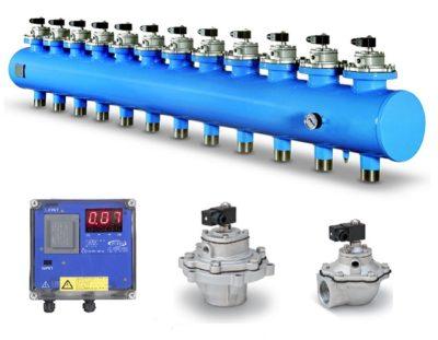 Turbo sistemi di lavaggio filtri