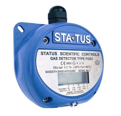 Analizzatori ossigeno e altri gas ATEX Status Scientific Controls