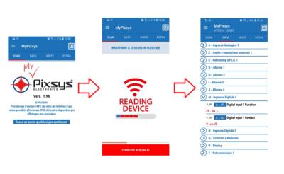 Applicazione MyPixsys